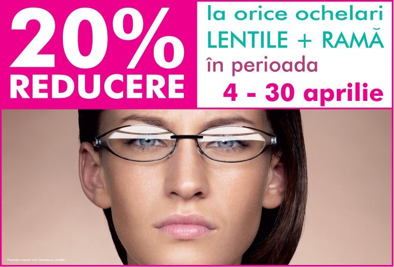Reducere la orice ochelari